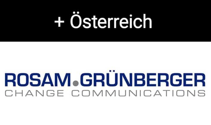 Rosam.Grünberger | Change Communications, Österreich